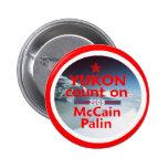 Botón de McCain Palin el YUKÓN Pin