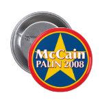Botón de McCain-Palin Pins