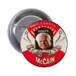 Botón de McCain/Sweeny Todd Pin