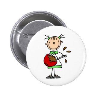 Botón de mezcla de la comida pin redondo de 2 pulgadas