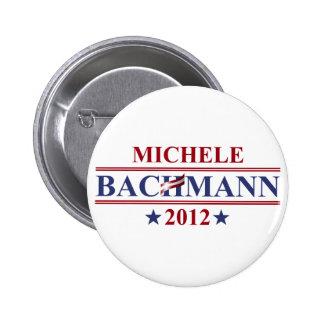 Botón de Micaela Bachmann 2012 Pin Redondo De 2 Pulgadas
