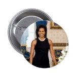 Botón de Michelle Obama Pin Redondo De 2 Pulgadas