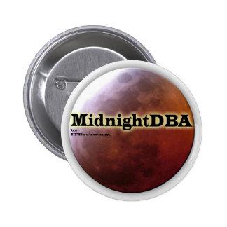 Botón de MidnightDBA Pin Redondo De 2 Pulgadas