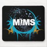 Botón de MIMS - logotipo de MIMS enmarcado - exclu Tapete De Ratón