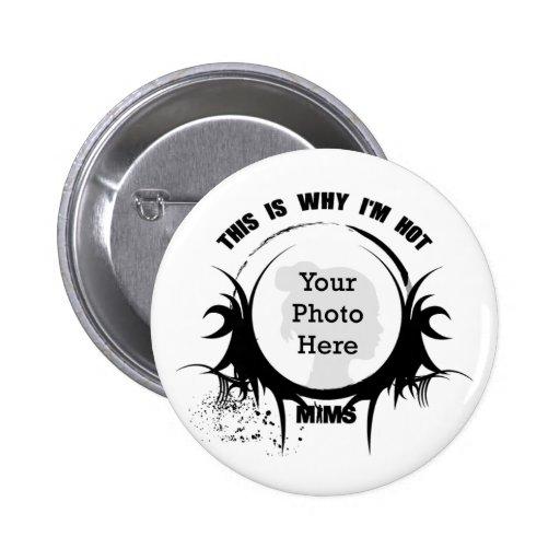 Botón de MIMS - personalizable Pins