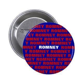 Botón de Mitt Romney 2012 Pin Redondo De 2 Pulgadas