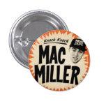 Botón de Mliller del mac Pins