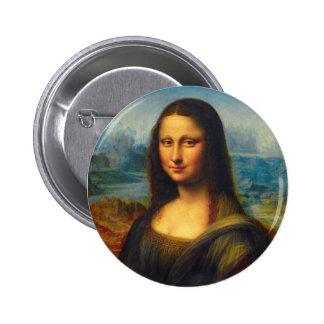 Botón de Mona Lisa Pins