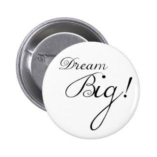 Botón de motivación grande ideal pin redondo de 2 pulgadas