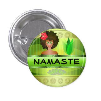 Botón de Namaste Pins