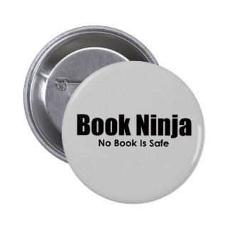 Botón de Ninja del libro Pin