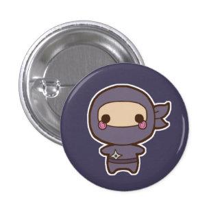 Botón de Ninja Pin Redondo De 1 Pulgada