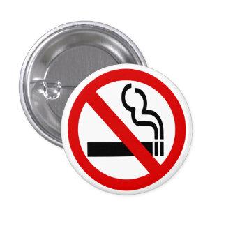 Botón de no fumadores pin
