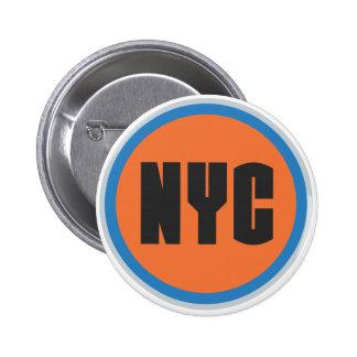 Botón de NYC Pin Redondo De 2 Pulgadas