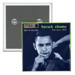 botón de obama 2012 pin
