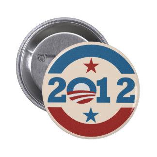 Botón de Obama 2012 Pin Redondo De 2 Pulgadas