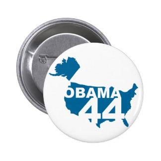 Botón de Obama 44 Pins