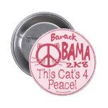 Botón de Obama de este gato 4 Pins