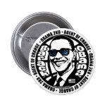 Botón de Obama del agente secreto Pins