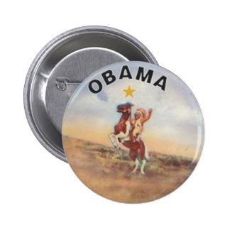 Botón de Obama del nativo americano Pin