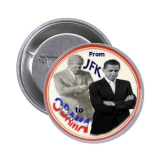 Botón de Obama JFK Pin