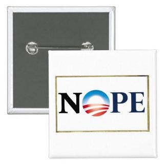 Botón de Obama NOPE