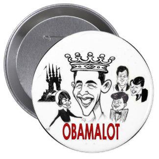 Botón de Obama Obamalot 4-Inch Pin Redondo De 4 Pulgadas