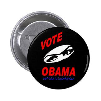 Botón de Obama Pin Redondo De 2 Pulgadas