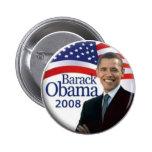 Botón de Obama Pins