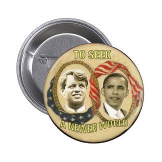 Botón de OBAMA/RFK Pin