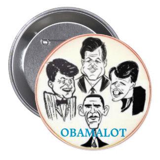 Botón de Obamalot 3-Inch Pin Redondo De 3 Pulgadas