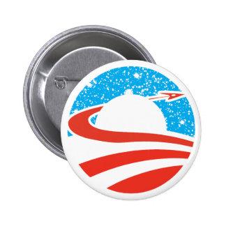 Botón de Obamanaut Pin