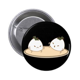 Botón de Onigiri del sumo Pin