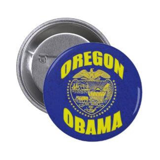 Botón de Oregon de Obama Pins