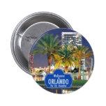 Botón de Orlando la Florida Pin