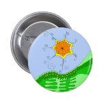 Botón de Overhill de la sol Pin