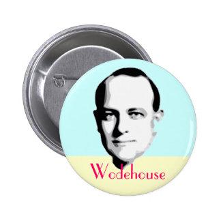 Botón de P.G. Wodehouse Pin Redondo De 2 Pulgadas