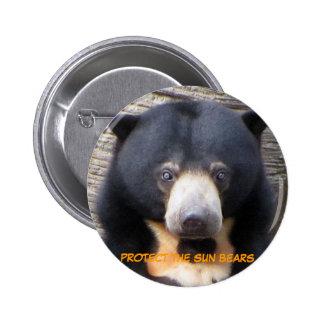 Botón de Pagi del oso de Sun