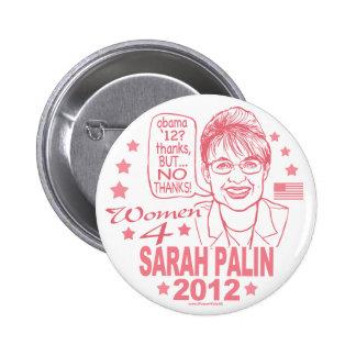 Botón de Palin 2012 de las mujeres 4 Pin