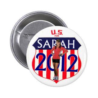 Botón de Palin 2012 Pin Redondo De 2 Pulgadas