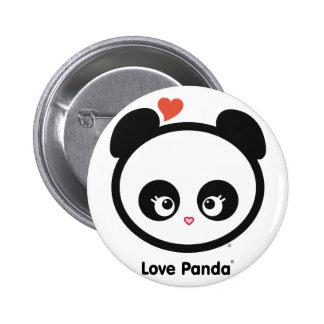 Botón de Panda® del amor Pins