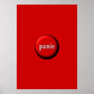 Botón de pánico póster