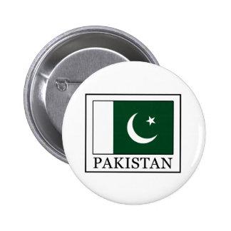 Botón de Paquistán Pin Redondo De 2 Pulgadas