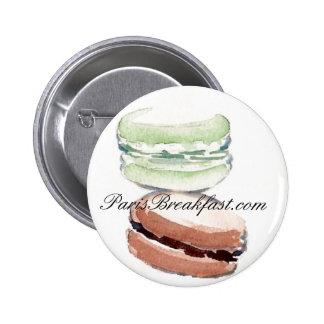 botón de ParisBreakfast com Pin