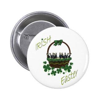 Botón de Pascua del irlandés Pin