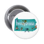 Botón de Pennsylvania Pins
