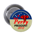 Botón de Perry 2012 Pin