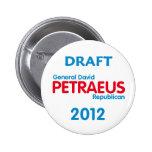 Botón de PETRAEUS 2012 Pins