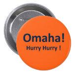 Botón de Peyton Manning Omaha de los Denver Bronco