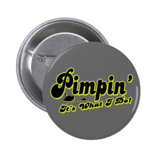 Botón de Pimpin Pin Redondo De 2 Pulgadas